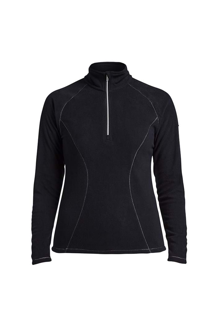 Picture of Rohnisch Micro Fleece 1/2 Zip - Black