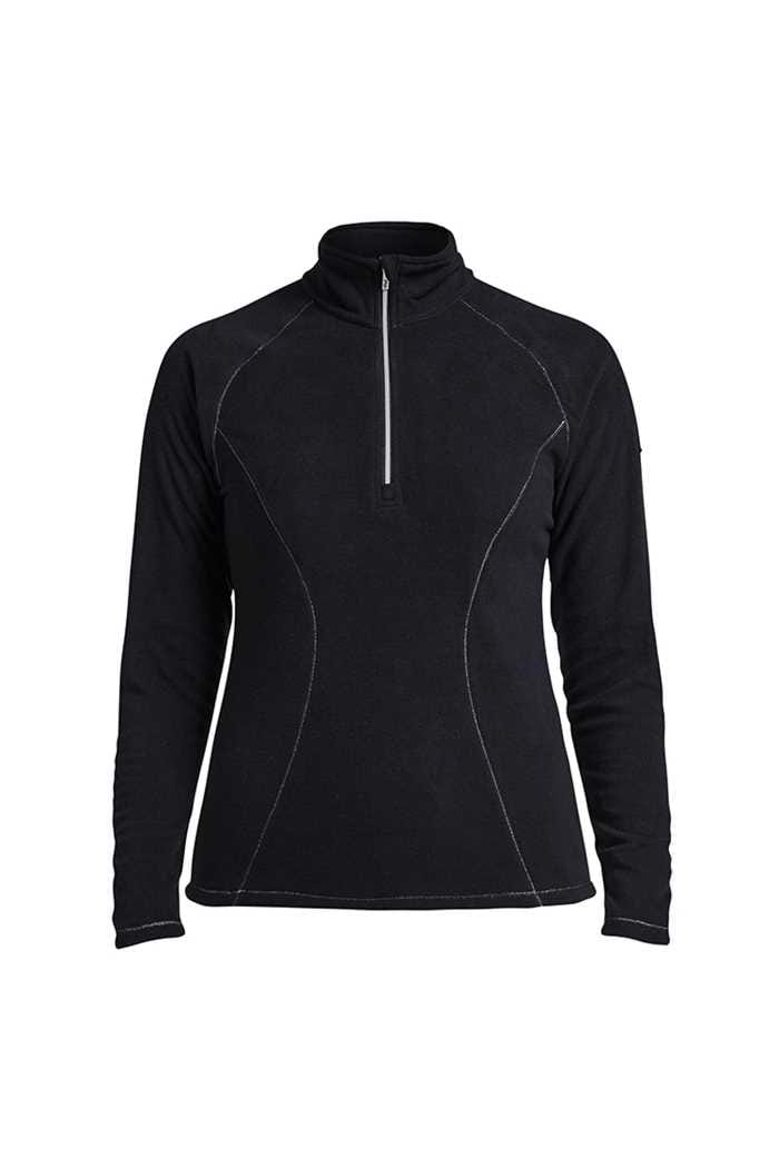 Picture of Rohnisch Micro Fleece 1/2 Zip - Black