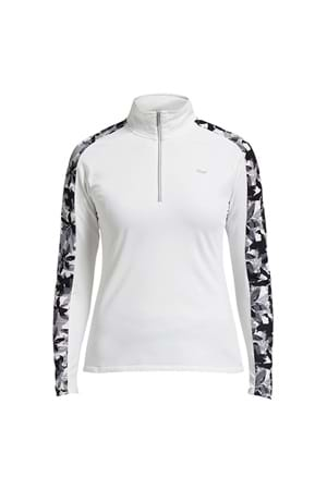 Picture of Rohnisch Warming 1/2 Zip Top - Off White