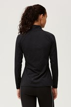 Picture of Rohnisch Warming 1/2 Zip Top - Black