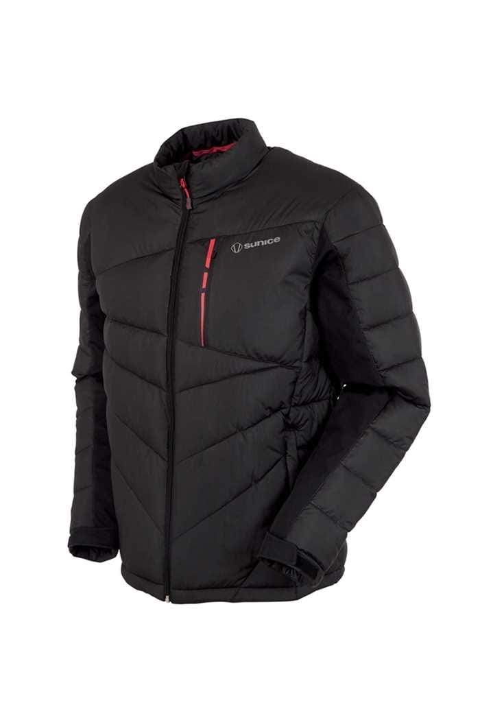 Picture of Sunice zns  Forbes Thermal Jacket - Black / Scarlet