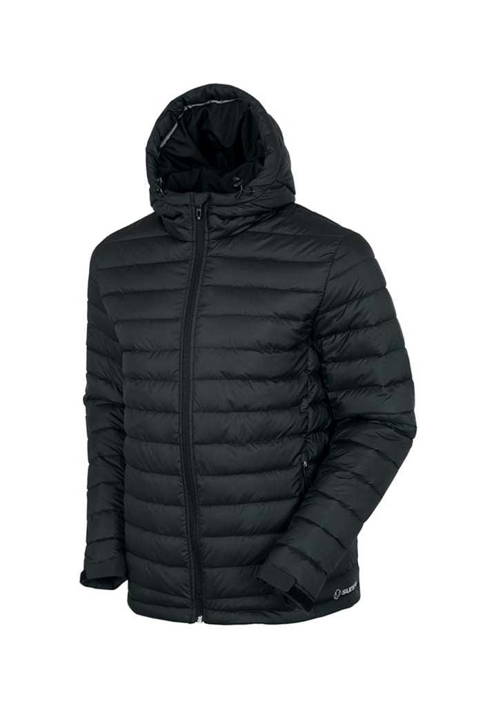 Picture of Sunice ZNS Rory Thermal Hooded Jacket - Midnight / Red