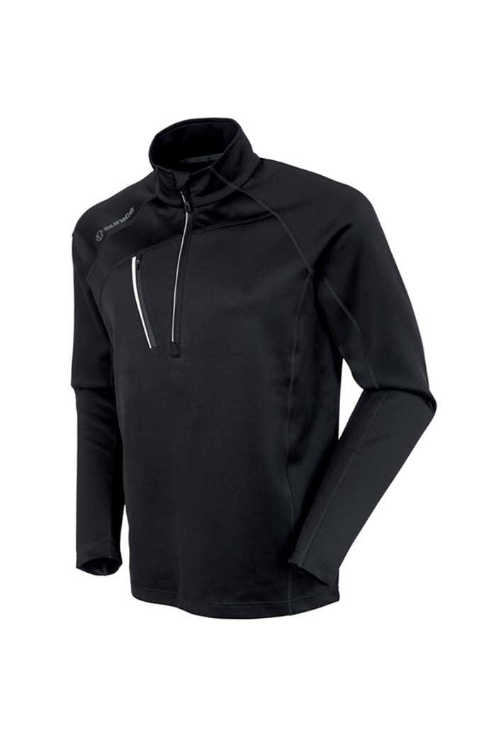 Picture of Sunice ZNS Alexander Thermal 1/2 Zip Sweater - Black / White