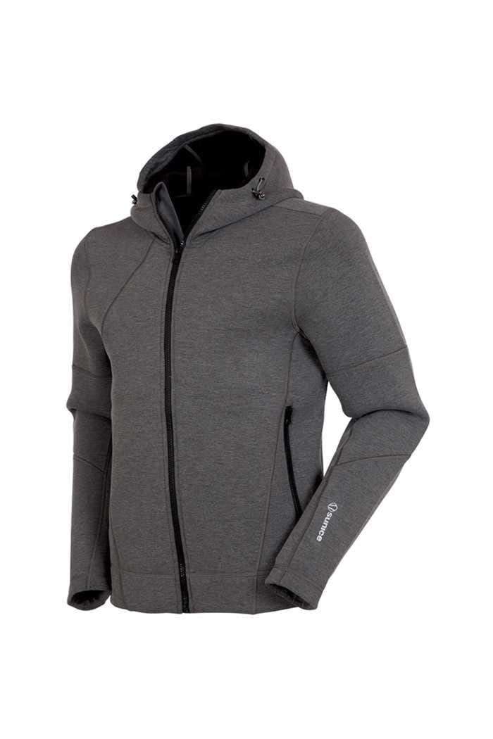 Picture of Sunice ZNS Austin Full Zip Hooded Jacket - Black Melange