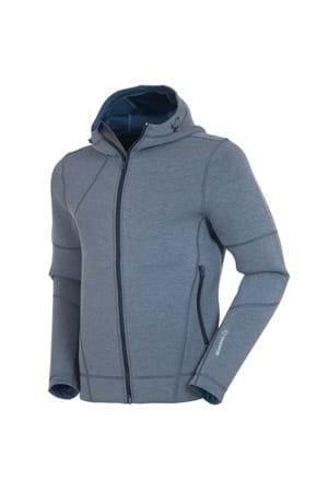 Picture of Sunice Austin Full Zip Hooded Jacket - Midnight Melange