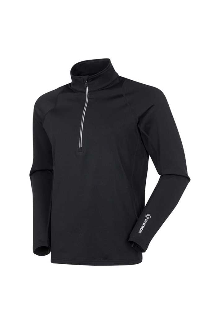 Picture of Sunice ZNS Tobey 1/2 Zip Pullover - Black