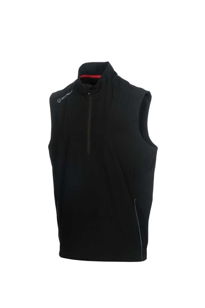 Picture of Sunice ZNS Kent Wind Vest - Black / Charcoal Melange