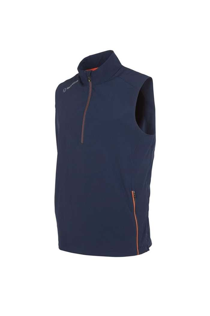 Picture of Sunice ZNS Kent Wind Vest - Midnight / Orange
