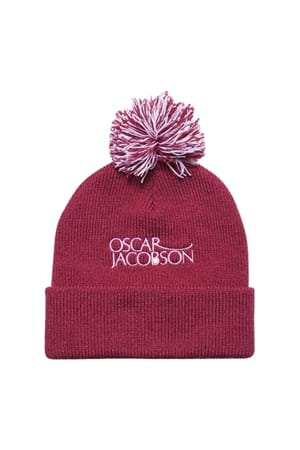 Picture of Oscar Jacobson Knitted Hat II - Faded Red 683