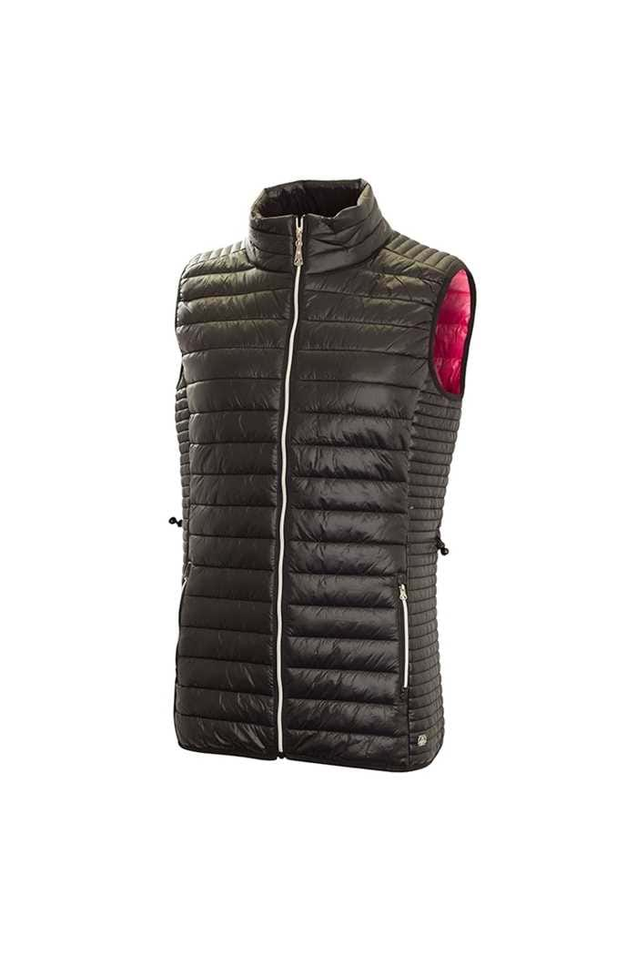 Picture of Green Lamb zns Jillian Padded Gilet - Black