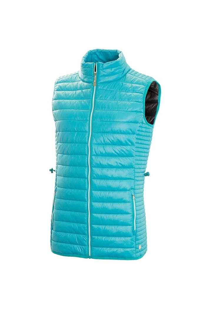 Picture of Green Lamb ZNS Jillian Padded Gilet - Lagoon