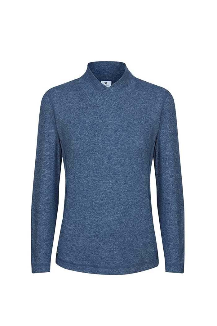 Picture of Daily Sports ZNS Agnes Long Sleeve Mock Neck - Steel Blue 551