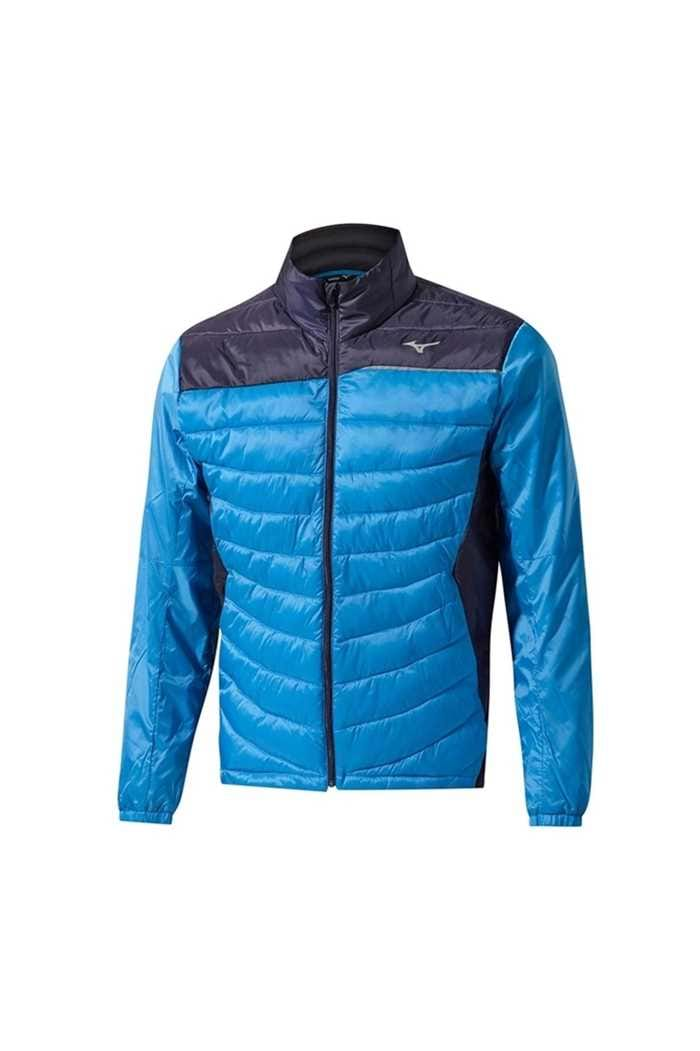 Picture of Mizuno ZNS Move Tech Jacket - Navy / Diva Blue