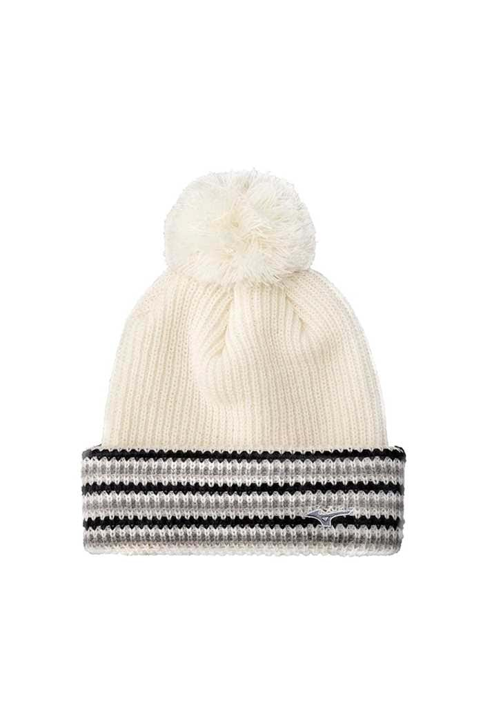 Picture of Mizuno Breath Thermo Bobble Hat - White