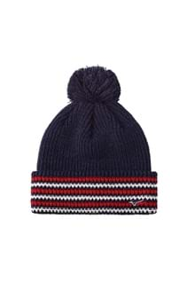 Picture of Mizuno Breath Thermo Bobble Hat - Deep Navy