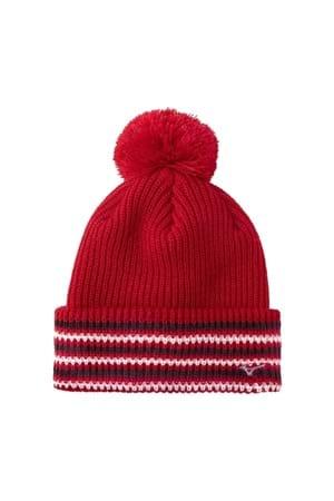 Picture of Mizuno Breath Thermo Bobble Hat  - Red