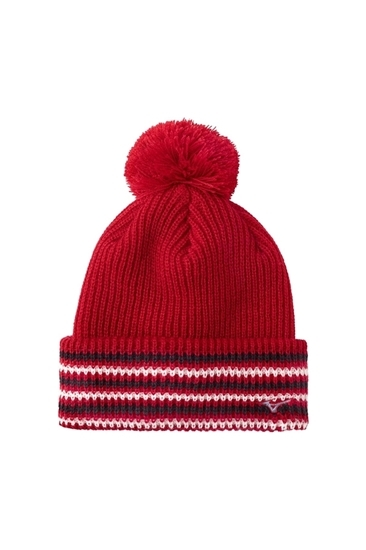 Mizuno Men s Breath Thermo Bobble Hat - Red - Mizuno - Eureka Golf 275a8de616e8