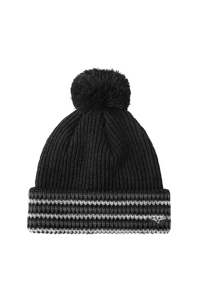 Picture of Mizuno Breath Thermo Bobble Hat - Black