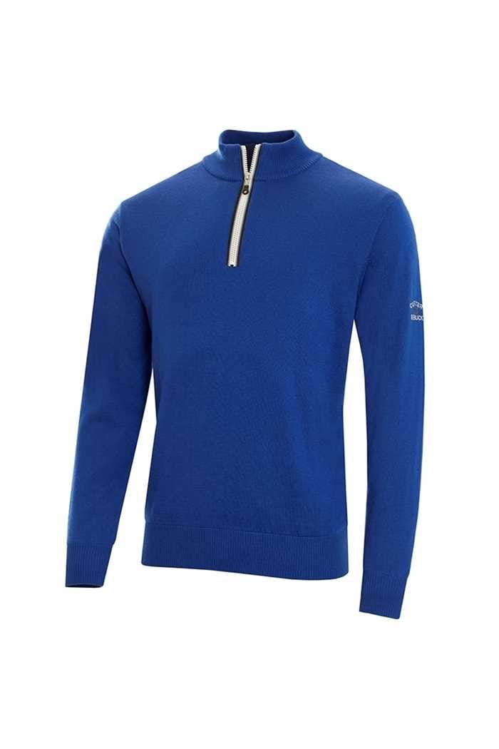 Picture of Cutter & Buck zns Tech Lined Windblock Sweater - Royal