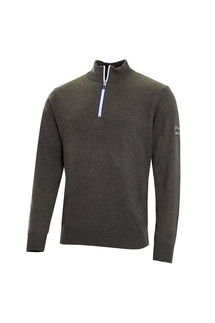 Picture of Cutter & Buck ZNS Tech Lined Windblock Sweater - Charcoal