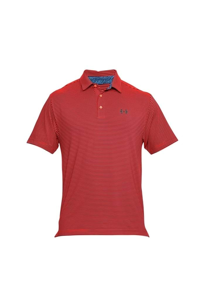 Picture of Under Armour ZNS UA Playoff polo Shirt - Orange / Navy 995