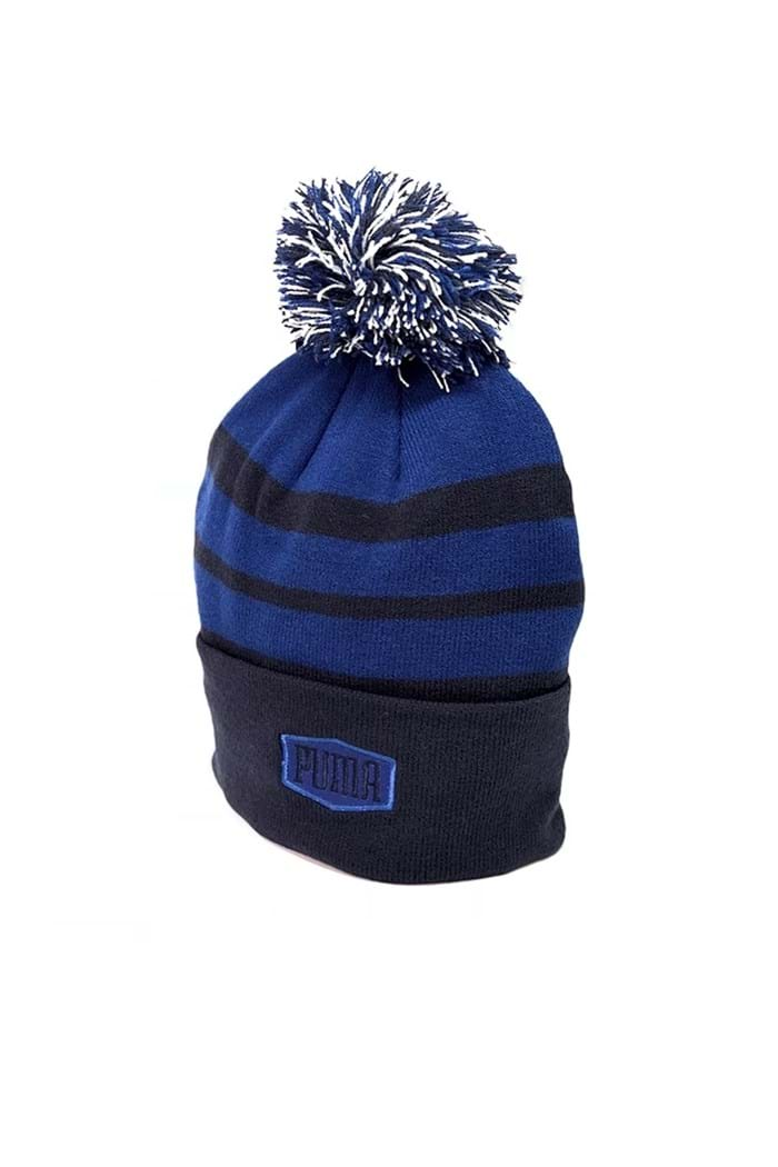Picture of Puma Golf Pom Beanie - Peacoat