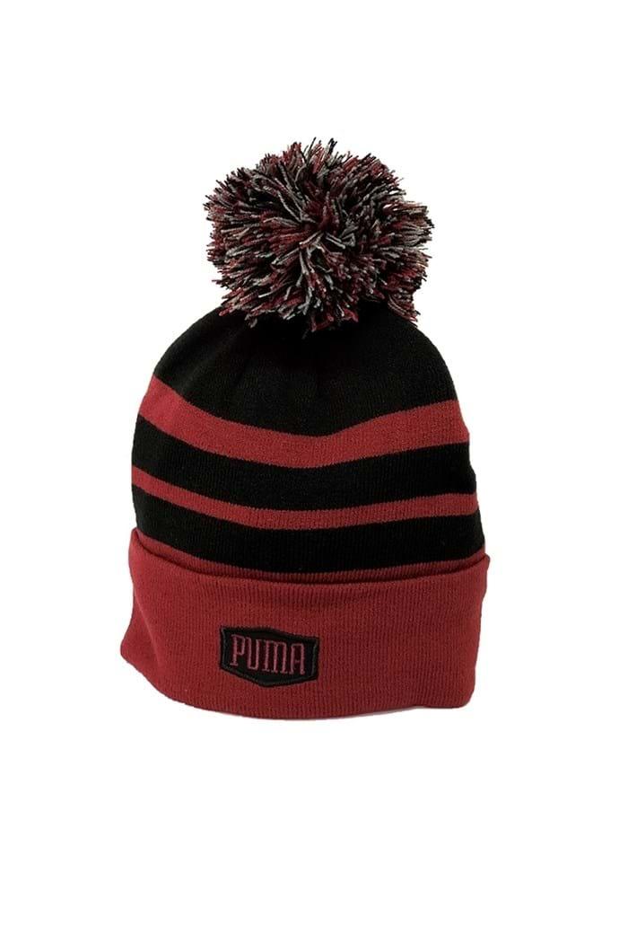 Puma Golf Men s Pom Beanie - Pomegranate - Puma Golf - Eureka Golf a97f99f5e