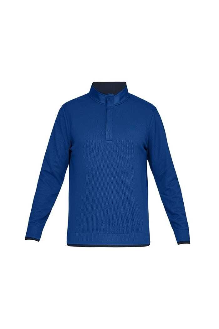 Picture of Under Armour UA Storm Sweater Fleece Snap Mock - Blue 400