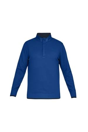 Picture of Under Armour UA Storm Sweater Fleece Snap Mock - Blue 400