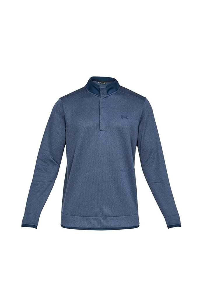 Picture of Under Armour UA Storm SweaterFleece Heather Snap Mock - Navy 408