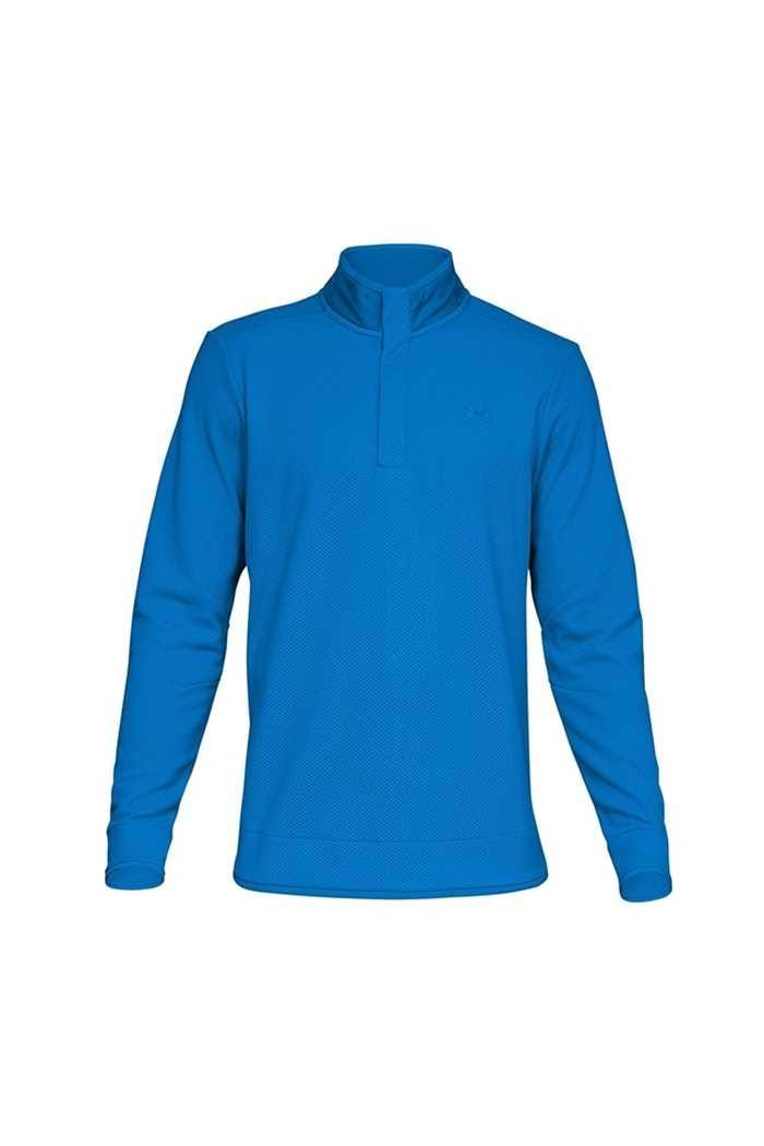 Picture of Under Armour ZNS UA Storm Sweater Fleece Snap Mock - Blue 436