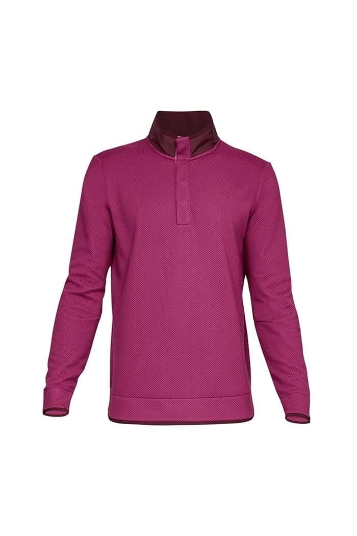Picture of Under Armour UA Storm Sweater Fleece Snap Mock - Purple 635