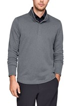 Picture of Under Armour UA Storm SweaterFleece Heather Snap Mock - Grey 513