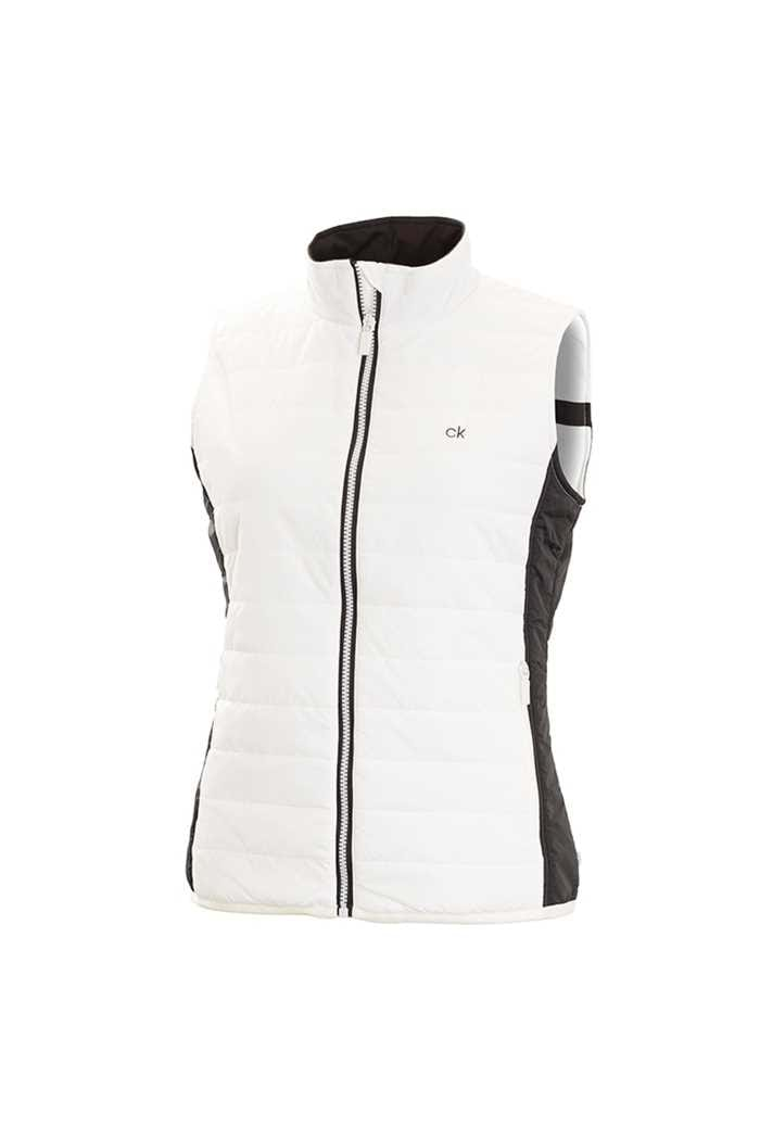 Picture of Calvin Klein zns CK Shell Padded Gilet - White