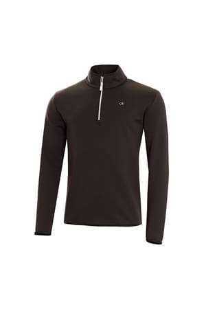 Picture of Calvin Klein Verve 1/2 Zip Performance Top - Black / White