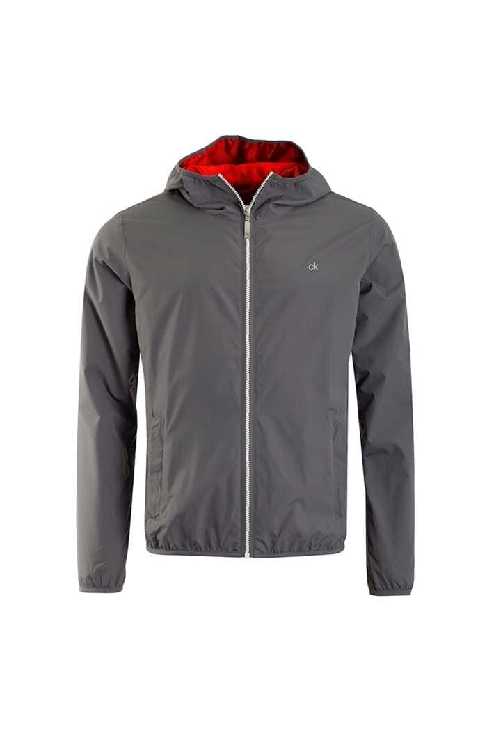 Picture of Calvin Klein zns 365 Hooded Wind Jacket - Charcoal