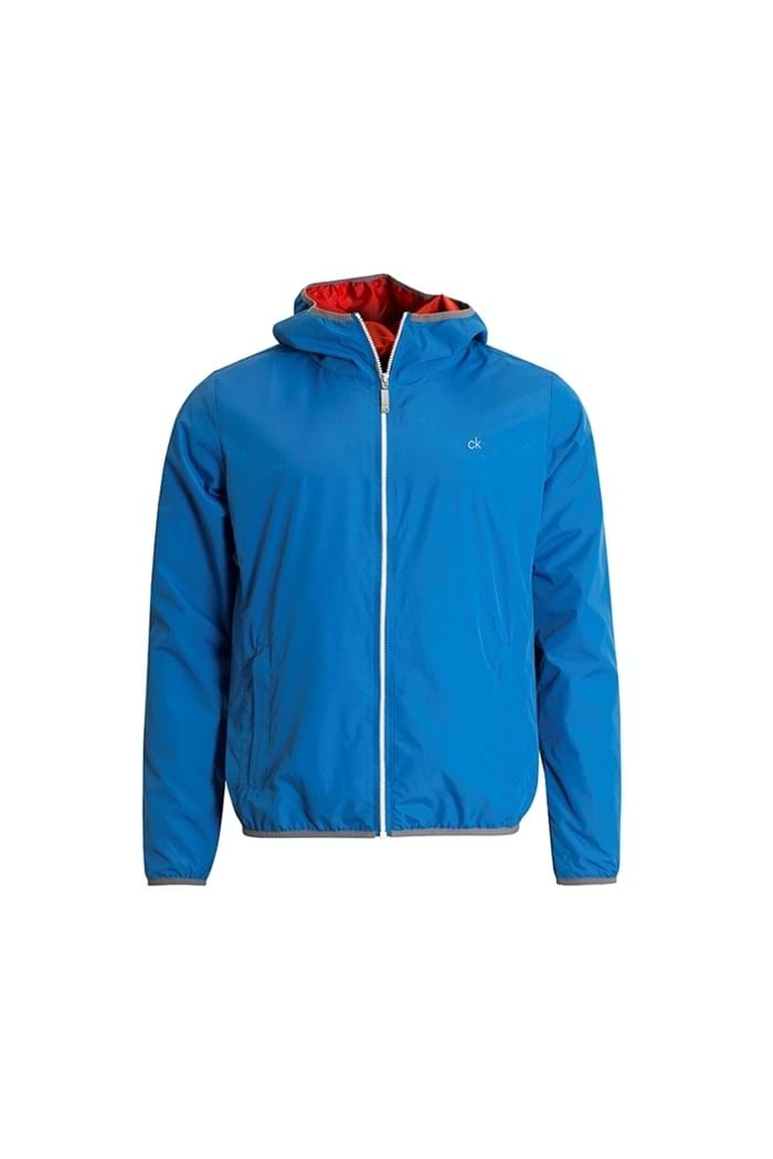 Picture of Calvin Klein 365 Hooded Wind Jacket - Marine Blue