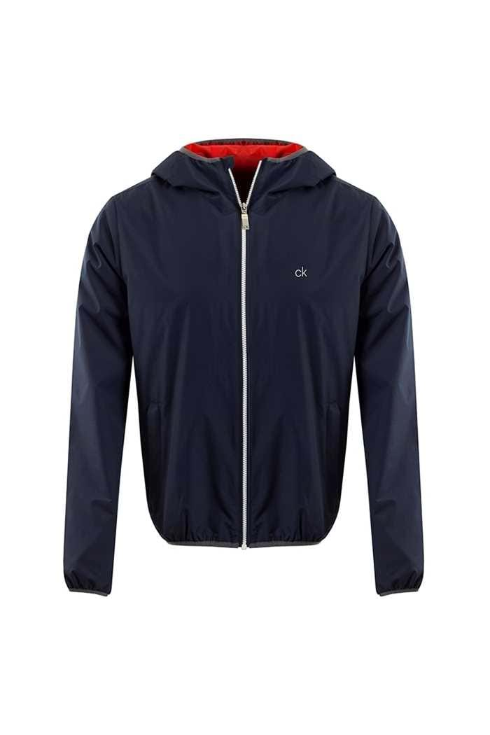 Picture of Calvin Klein ZNS 365 Hooded Wind Jacket - Navy