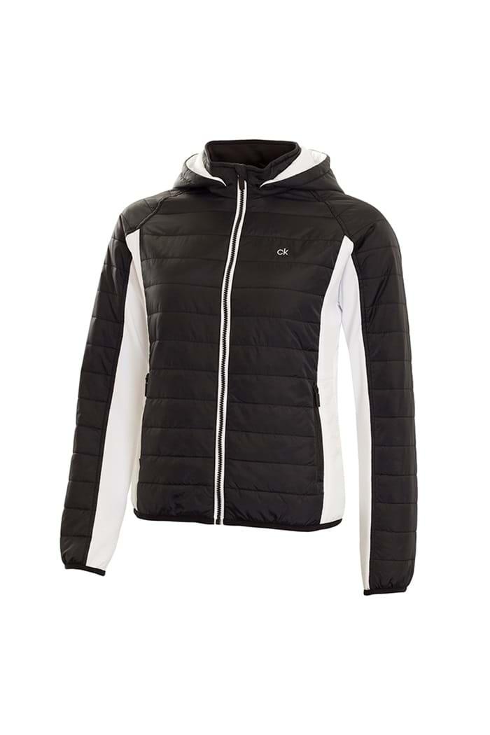 1ce8e69b26449 Calvin Klein Ladies CK Shell Padded Jacket - Black - Calvin Klein ...