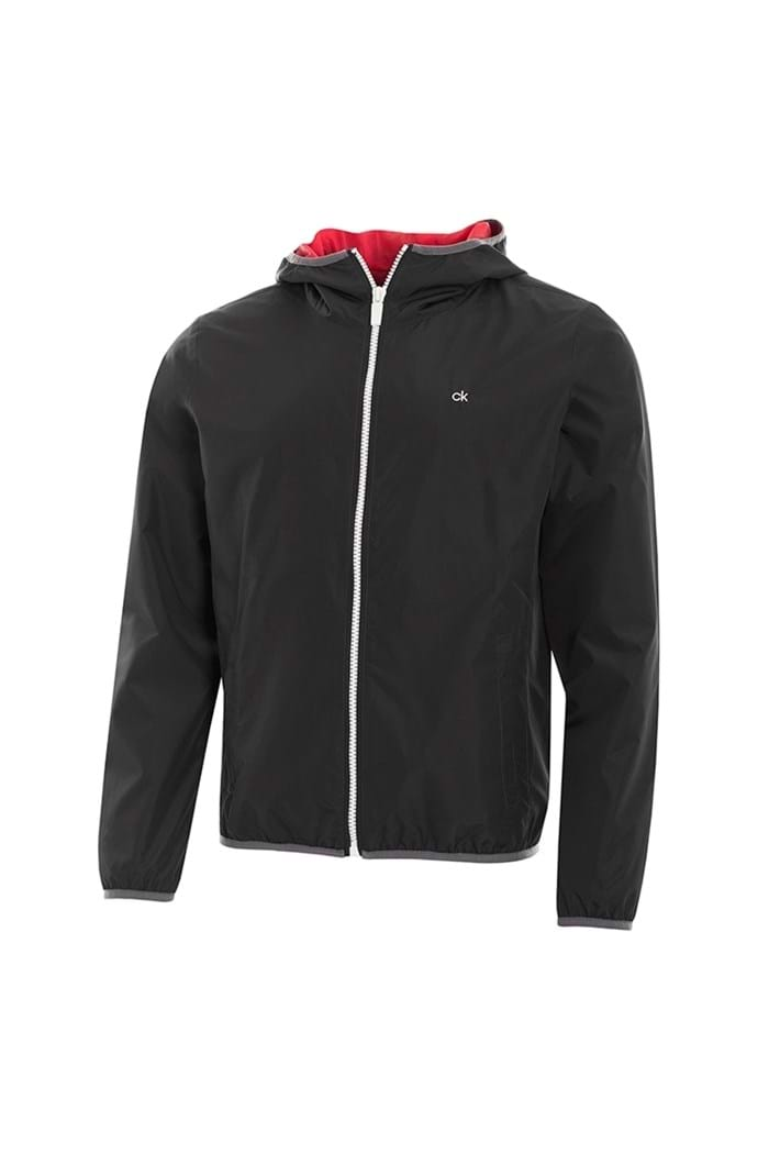 Picture of Calvin Klein 365 Hooded Wind Jacket - Black