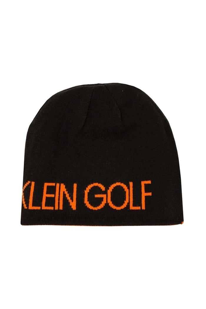 8ab274f3c511eb Calvin Klein Men's CK Golf Logo Beanie - Black / Orange - Calvin ...