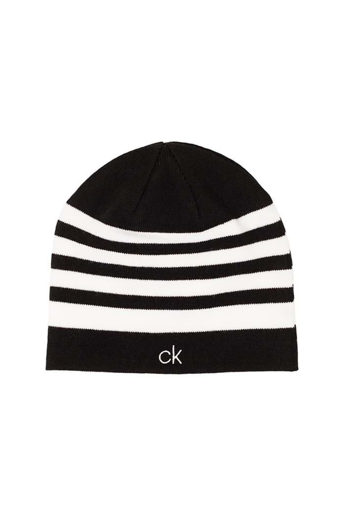 2cbdabb81b10a6 Calvin klein Men's CK Stripe Beanie - Black / White - Calvin Klein ...