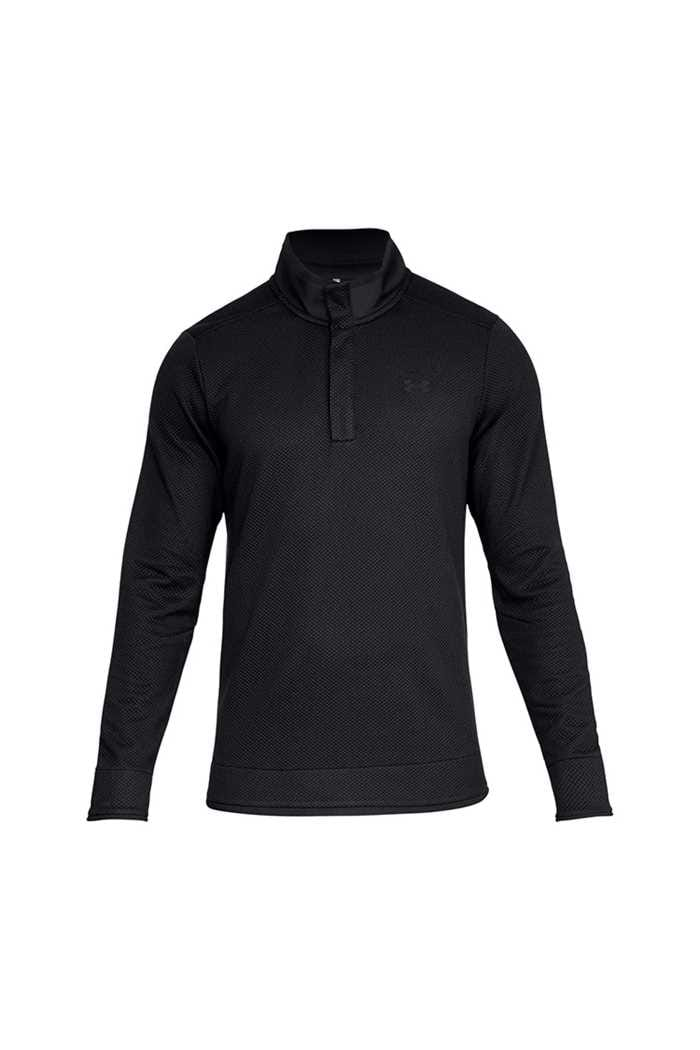 Picture of Under Armour  zns UA Storm Sweater Fleece Snap Mock - Black 001
