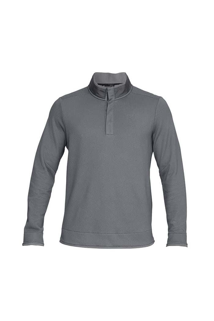 Picture of Under Armour ZNS UA Storm Sweater Fleece Snap Mock - Grey 513
