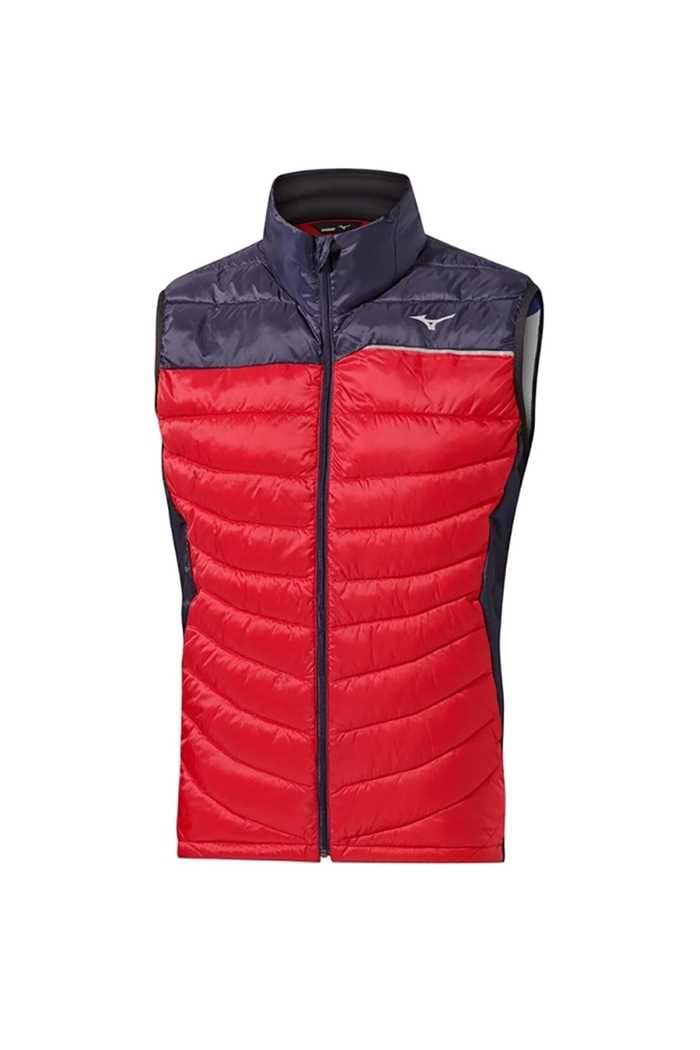 Picture of Mizuno zns Move Tech Gilet - Navy / Red