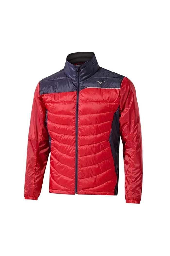 Picture of Mizuno Move Tech Jacket - Navy / Red