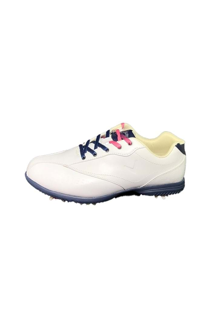 Picture of Callaway Ladies Halo Pro Golf Shoes - White / Peacoat