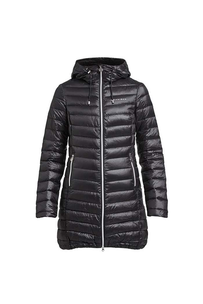 Picture of Rohnisch zns Long Light Down Jacket - Black