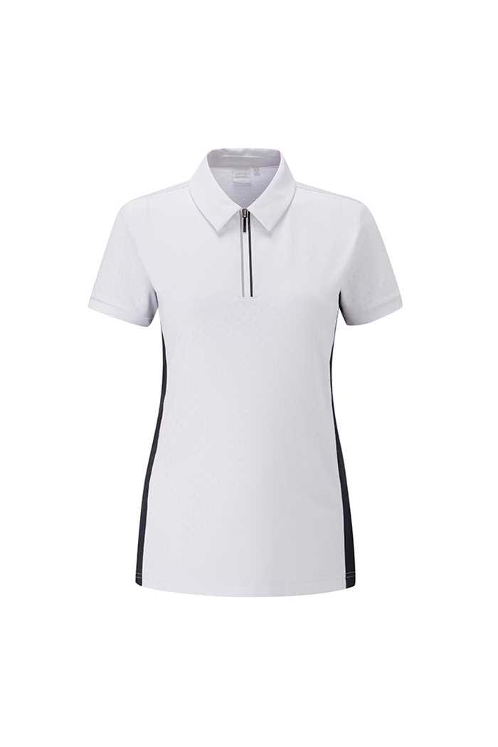 Picture of Ping Collection zns Noa Polo Shirt - White / Navy