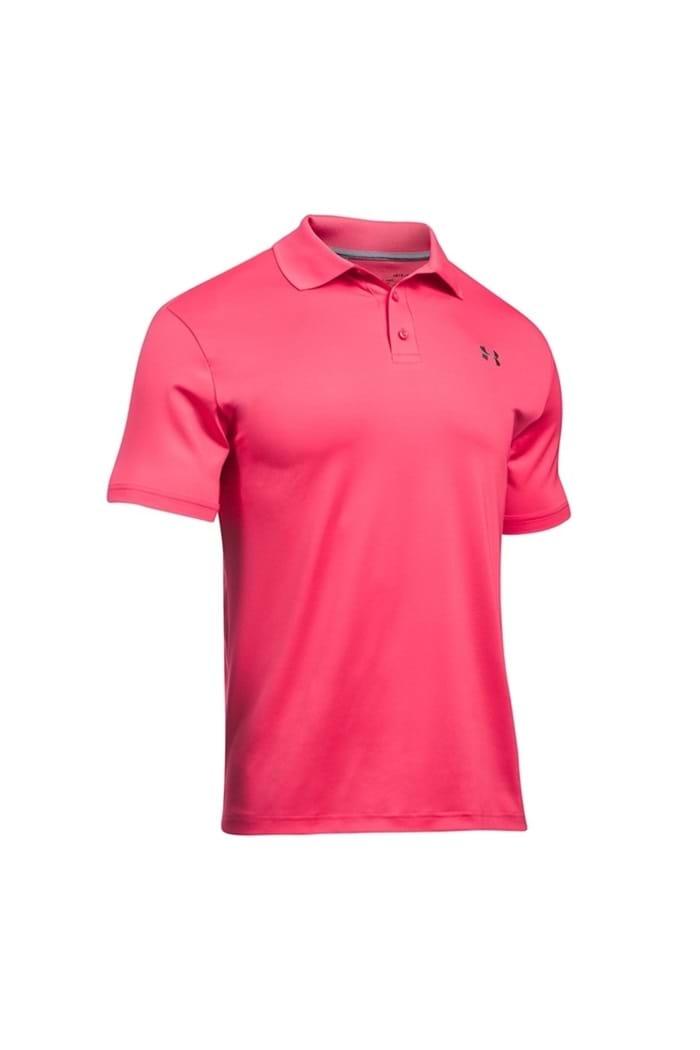 6b83cd71 Under Armour Men's UA Performance Polo Shirt - Pink 681 - Under ...
